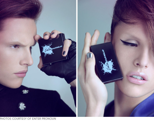Gender-neutral makeup line 'Enter Pronoun' celebrates androgynous beauty!