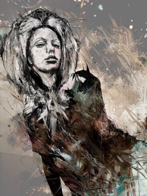 ex0skeletal:  (via Juxtapoz Magazine - Gallery - Category: Russ Mills new - Image: Russ Mills New_24)