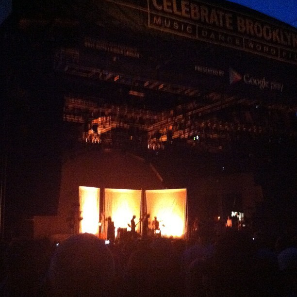 The Dirty Projectors @ Prospect Park!