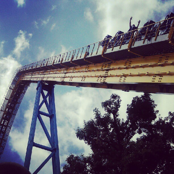 Skyrush :) Such an awesome ride.