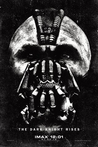 BANE IMAX POSTER **Find the Batman Logo!