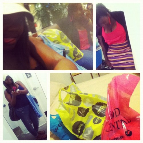 Mall w/my sis #picstitch (Taken with Instagram)