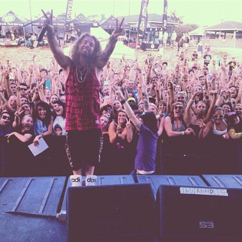 #Modsun live from warped tour #Indiana. Touring big swag. #USA (Taken with Instagram)