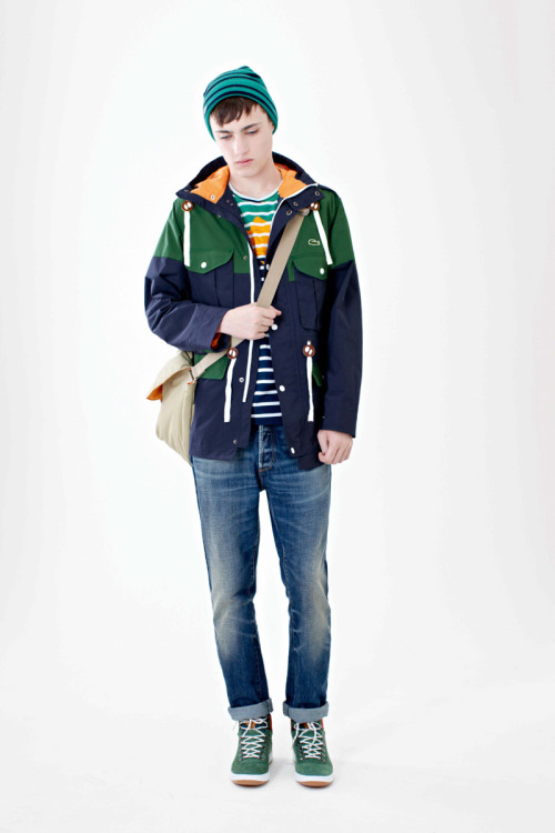 eyegasmgalore:  Callum Wilson for Lacoste L!ve FW 2012