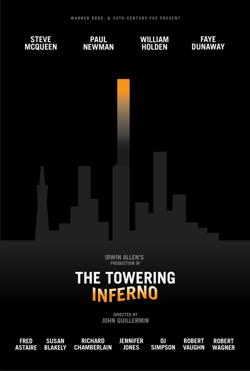 The Towering Inferno by Robert Armstrong