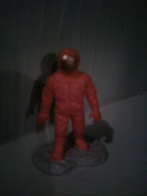 Capt. Johnny Blastoff action figure!