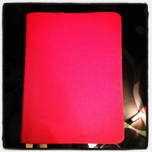 My favorite thing (agenda) in my favorite color!! #photoadayjuly  (Taken with Instagram)
