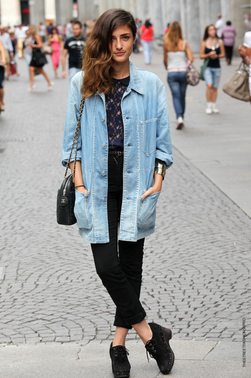 personally i like eleonora more when she's on the dressed-down side..