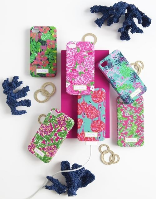 peaceloveandwolfpack:  Fall preview of Lilly iPhone cases!