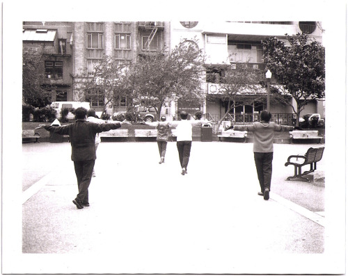Tai Chi in Chinatown.