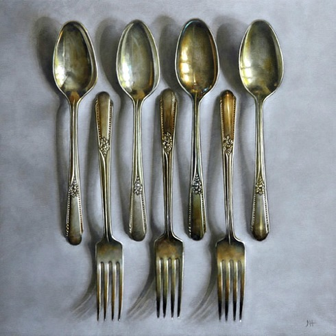 Neil Hollingsworth Forks and Spoons  2012