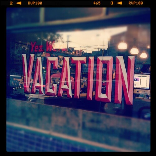 On Vacation (Taken with Instagram at Vacation Vinyl)