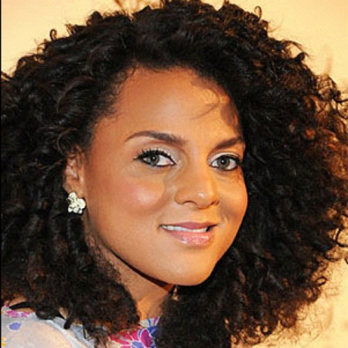 Marsha Ambrosius soft loose curls always as nice as your vocals (Taken with Instagram)