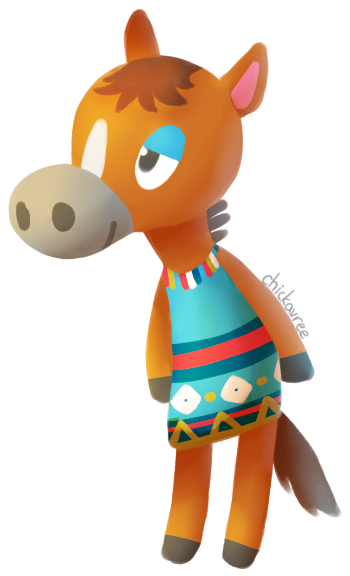 chickavree:  elmer is my favourite animal crossing villager ever no questions asked