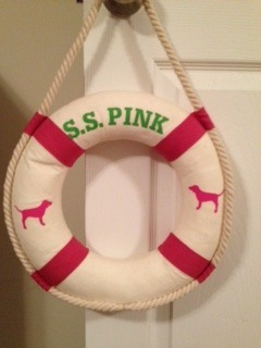Victoria Secret Pink Life Preserver Store Display Item~Bought it for $1.00 at Goodwill<3