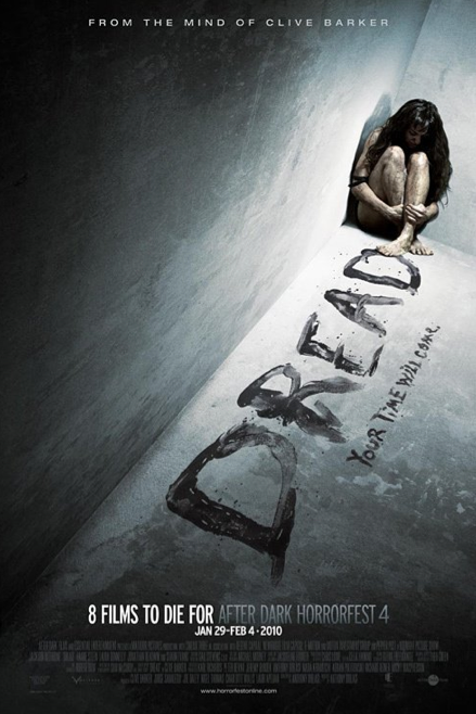 Dread (2009) R18+ Main Cast: Jackson Rathbone, Laura Donnelly, Jonathon ReadwinThree college students set out to document what other people dread most. An outcast cinema student, Stephen, does not drive cars due to the trauma of loosing his brother in a car accident. He befriends Quaid, a boy who since the ago of six has experienced dreadful nightmares and daydreams about the death of his parents. Stephen see the chance of developing an original thesis for college and invites his friend, Cheryl, to work with them. Among interviewees, Stephen talks to his colleague, Abby, who works with him in the library. Abby has a complex about the way she looks. When the work is almost complete, Quaid has an outbust at one interviewee's and ends up destroying the camera and editing equipment. Stephen soon finds out that he needs to re-evaluate the situation and Quaid starts to take control over the project and turn it into something darker. I really love this movie, Clive Barker is one of my favourite authors and his horror movies are great aswell.. The movie is original, and different with a good balance of blood. One of my favourites! Favourite | Good | Neutral | Burn It