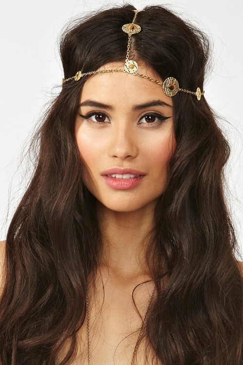 fashionfever:  Coin Headpiece