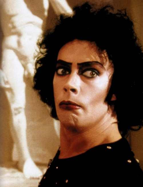 oldhollywood:  The Rocky Horror Picture Show (1975, dir. Jim Sharman) (via)  It could be time to watch this again. I wish I could go back to the 8th Street Playhouse to see it at midnight again.