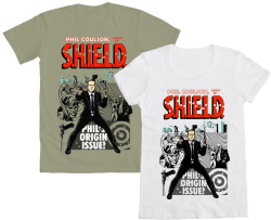 welovefineshirts:  WE LOVE FINE WEDNESDAY LOVES AGENT PHIL COULSON! And we KNOW you do too, Avengers fans… so reblog this post and you'll be entered into a drawing for a FREE Coulson tee by NinjaInk! Mens AND womens sizes available! Reblog NOW and win! Good Luck!