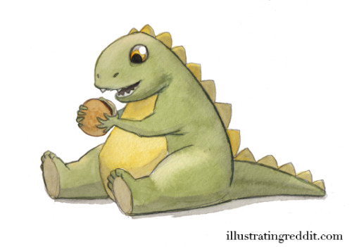 If your reddit username is Chunkasaurus… it might get illustrated.
