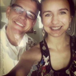 weheartjennaannekroff:  Jenna and her dad :)