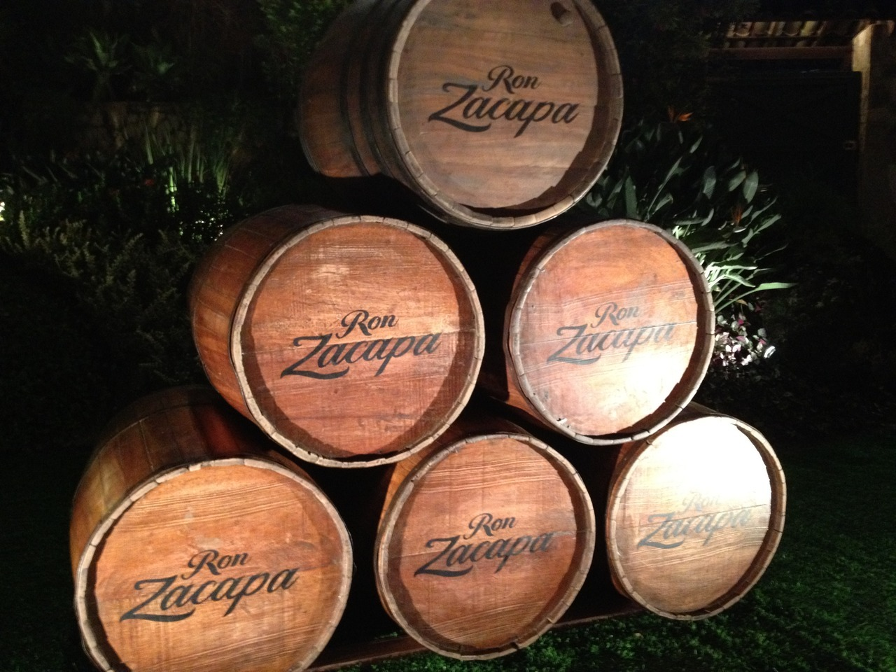 Zacapa Casks at the World Class 2012 Finals