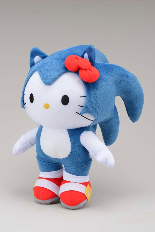 Hello Kitty x Sonic the Hedgehog src