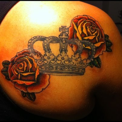 Added some roses to my crown. It feels more complete now