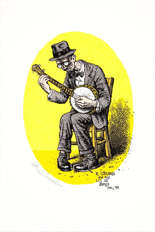 Robert Crumb Signed Art Print (1991)