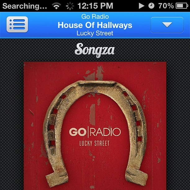 First time to use Songza and it played me Go Radio!! Instantly ❤ Songza! Haha!  (Taken with Instagram)