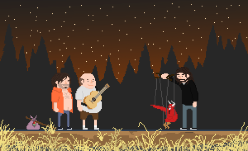 it8bit:  Tenacious D Tribute Created by Philip J. Fry