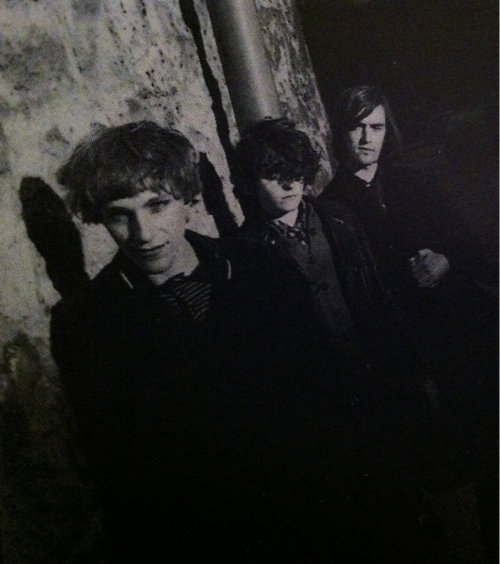 ddmmtt:  Stephen + Aggi from The Pastels + Eugene Kelly from The Vaselines