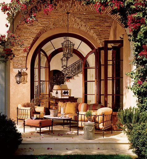 georgianadesign:  Covered porch/loggia. Mark Boone.
