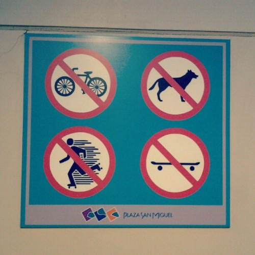 #mall #forbidden (Tomada con Instagram)