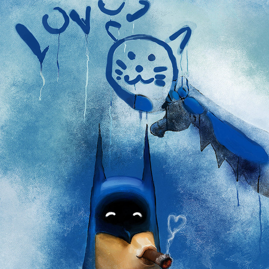 Batman Loves by jaggudada