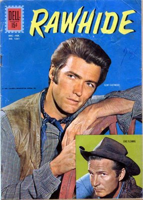 Rawhide comic book cover (early 1960s) Source: The Tainted Archive