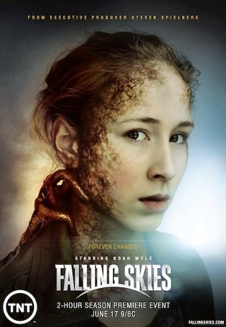 I am watching Falling Skies                                                  115 others are also watching                       Falling Skies on GetGlue.com