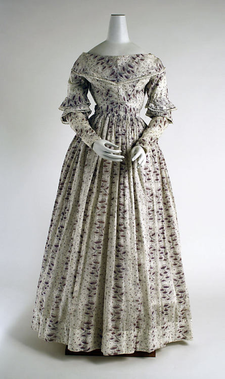 Morning Dress 1837-1840 The Metropolitan Museum of Art