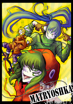 23livebatteries:  Matryoshka A4 print for SMASH SMASH is this saturday~ Hope to see ya all there~Our other stuff is here: [link]If ya going drop by an say hi yeah??