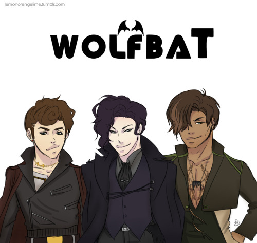 "Buy the self-titled wolfbaT debut album this summer!  The album features their hit single, ""Private Lessons"" Haha I just wanted to draw Tahno in a kpop boyband… Thank you, quillery, for helping me name their group :D"