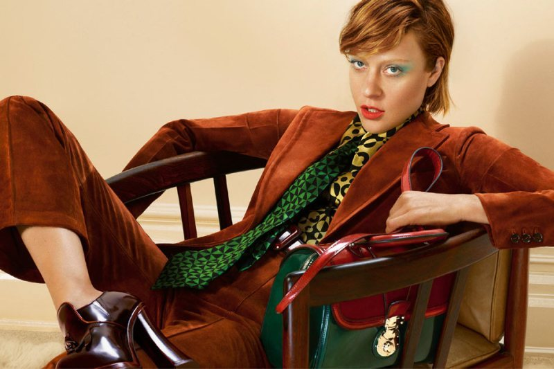 bohemea:  Chloe Sevigny for Miu Miu Fall/Winter 2012 by Mert and Marcus  Like the composition and the colors