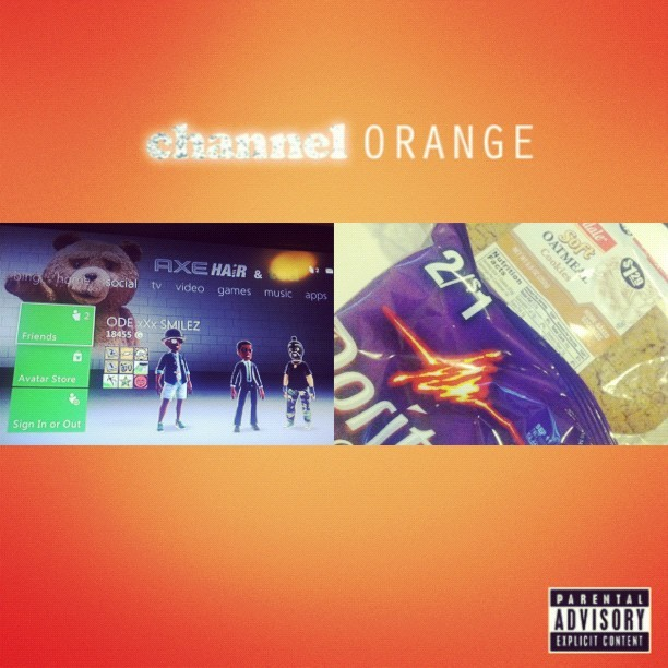 #break #breaktime #frankocean #channelorange #album #music #games #xboxlive #latenights #snacks #doritos #spicysweetchili #oatmeal #cookies  (Taken with Instagram)