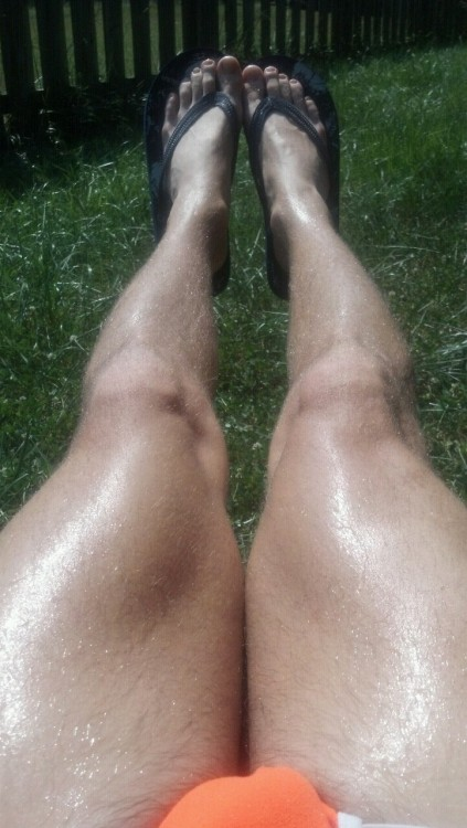 Prepping for the beach n shit #legs #hot #sun #sexy #gay #boy #flipflops #light #underwear #beach #tan #beautiful #feelgood #me