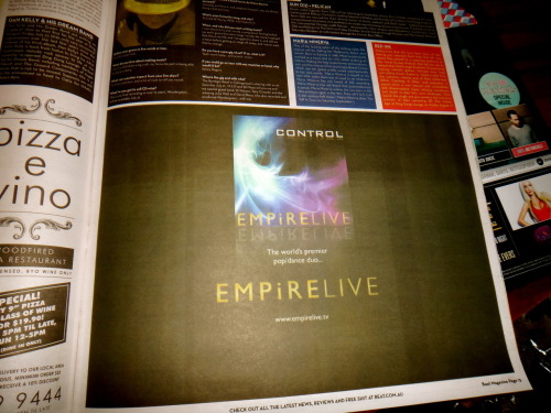 EMPiRE LIVE in Beat Magazine…