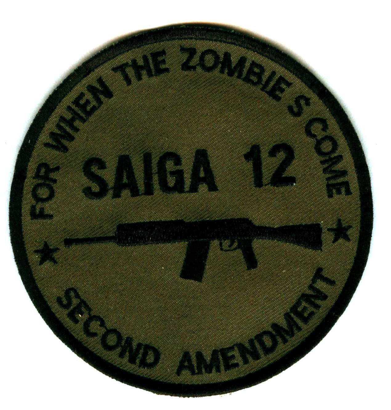 SAIGA 12 For When The Zombies Come