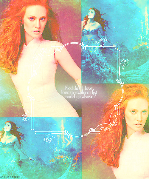 OUaT Dream Cast  Deborah Ann Woll as Ariel