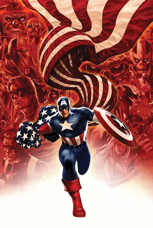 Steve Epting's cover for the forthcoming Captain America #19.