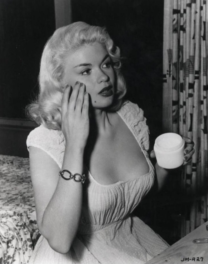 historiful:  Actress Jayne Mansfield (1933-1967), date unknown.