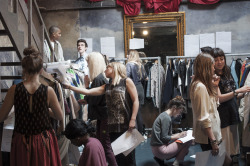 University of Brighton, Graduate Fashion Show 2012 Backstage