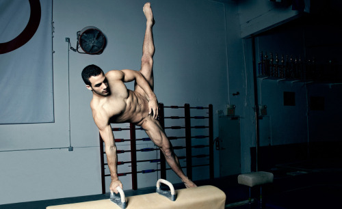 "I'd like to play with his parallel bar.   Danell Leyva for ESPN The Magazine: The Body Issue 2012, photographed by Peter Hapak.   ""If you're in it for real, Go ahead, put it on me, I know that you want me, So take me .  .  ."" Heidi Montag, 'Body Language', 2009"